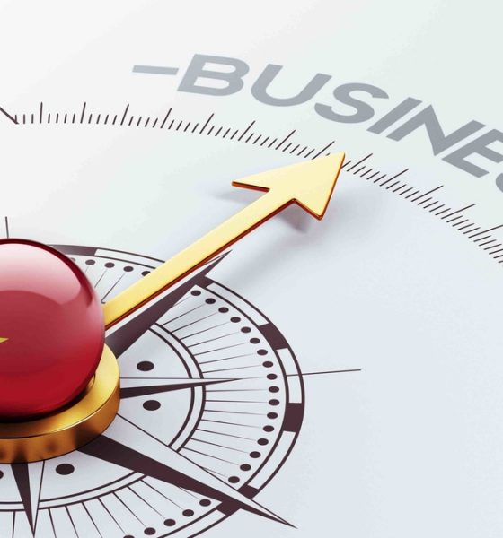 Vietnam Business Concept
