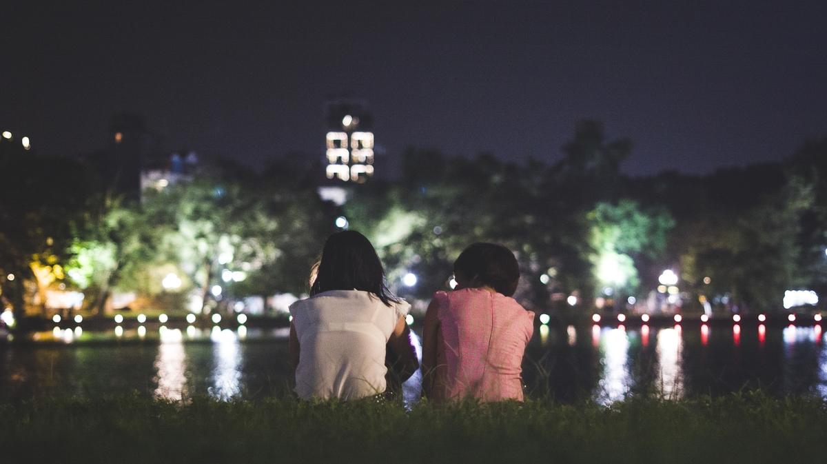 Couple At Night