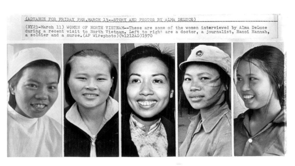 1970 Women Of North Vietnam Resized