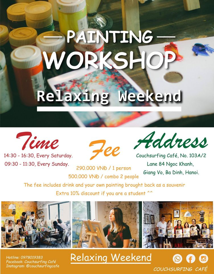 2412 CouchSurfing Cafe Painting Workshop
