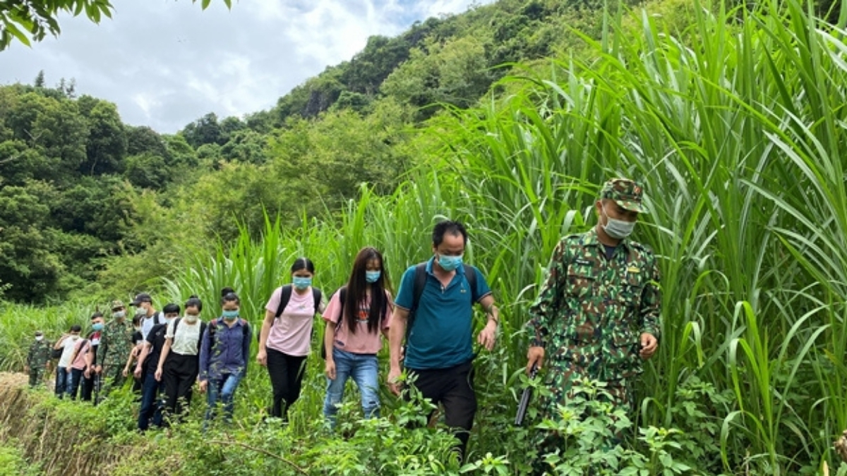More Than 100 People Illegally Entered Vietnam From China